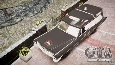 Cadillac Wildlife Control para GTA 4 vista interior