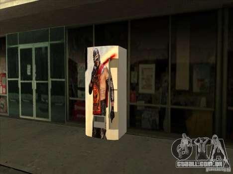 Soda pop Ray Mysterio para GTA San Andreas terceira tela
