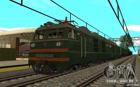 FERROVIÁRIA mod II para GTA San Andreas terceira tela