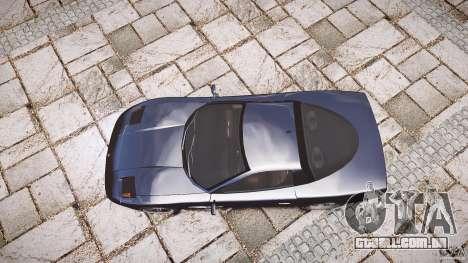 Coquette FBI car para GTA 4 vista lateral