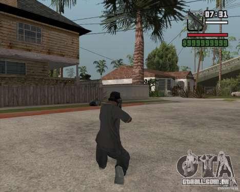 New MP5 (Submachine gun) para GTA San Andreas segunda tela