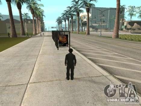 Linha de ônibus em Las Venturas para GTA San Andreas segunda tela