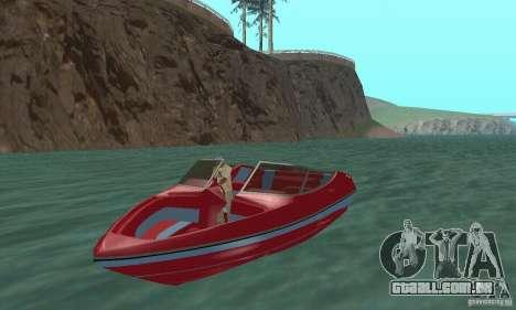 Speedboat para GTA San Andreas