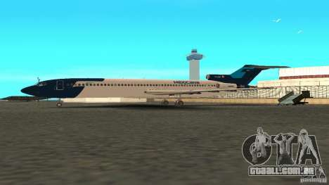 Boeing 727-200 Final Version para GTA San Andreas