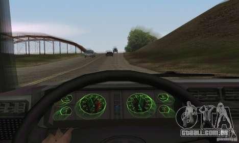 Vaz 2107 Stock v.2 para GTA San Andreas vista traseira