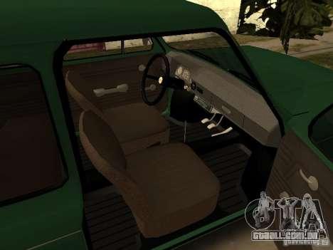 ZAZ 968M v2 para GTA San Andreas vista direita