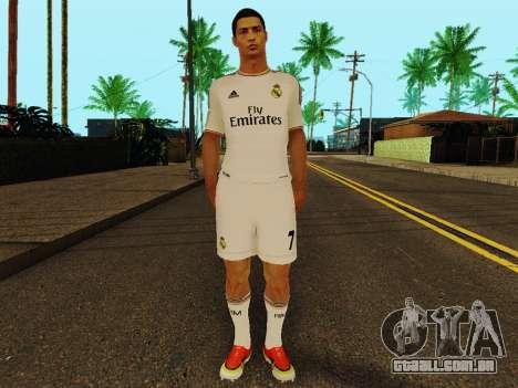 Cristiano Ronaldo v1 para GTA San Andreas