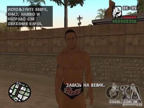 The rock para GTA San Andreas quinto tela