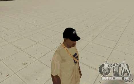 Chefe black cap para GTA San Andreas segunda tela