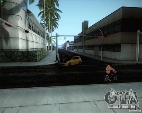 Novas estradas ao redor de San Andreas para GTA San Andreas sexta tela
