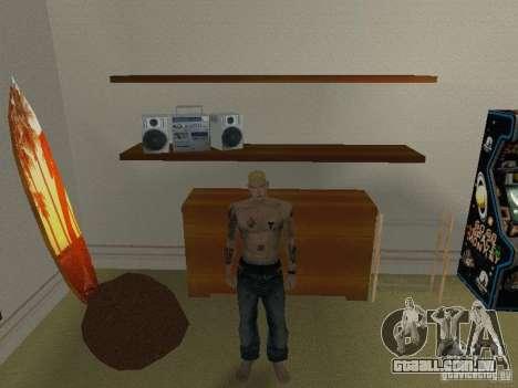 Pele Eminema para GTA San Andreas segunda tela