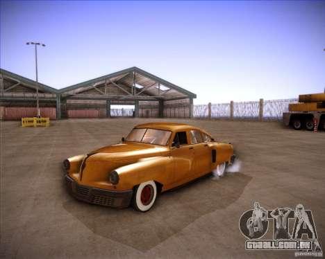 Walker Rocket para GTA San Andreas vista direita