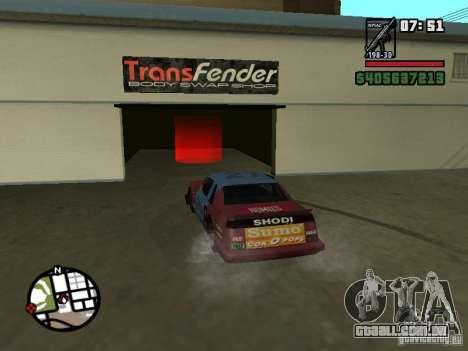 Transfender fix para GTA San Andreas