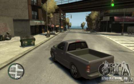 Dodge Ram SRT10 para GTA 4 traseira esquerda vista