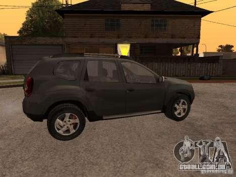 Dacia Duster para vista lateral GTA San Andreas