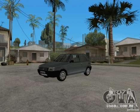 Fiat Mille Fire 1.0 2006 para GTA San Andreas traseira esquerda vista