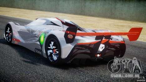 Mazda Furai Concept 2008 para GTA 4 vista direita