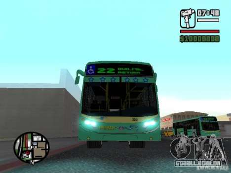 Metalpar 22 para GTA San Andreas vista interior