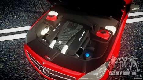 Mercedes-Benz CLS 63 AMG 2012 para GTA 4 vista de volta