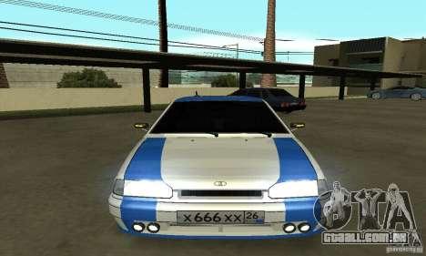 Ваз 2114 Nogai Tun para GTA San Andreas vista direita