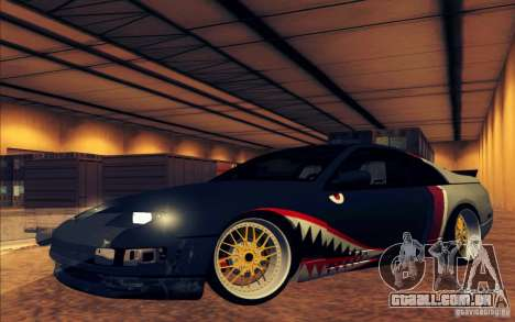 Nissan 300ZX Bad Shark para GTA San Andreas interior