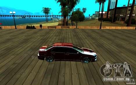 ENB para qualquer computador para GTA San Andreas décimo tela
