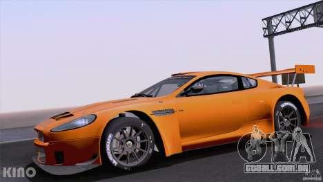 Aston Martin Racing DBRS9 GT3 para GTA San Andreas vista traseira