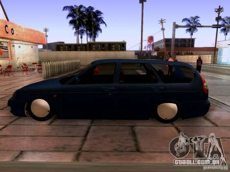 Lada Priora Sedan para GTA San Andreas vista direita