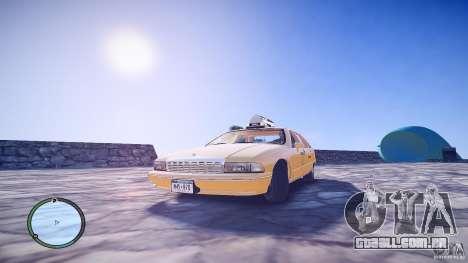 Chevrolet Caprice Taxi para GTA 4