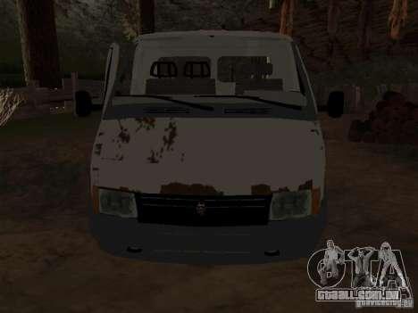 Uma gazela para GTA San Andreas segunda tela