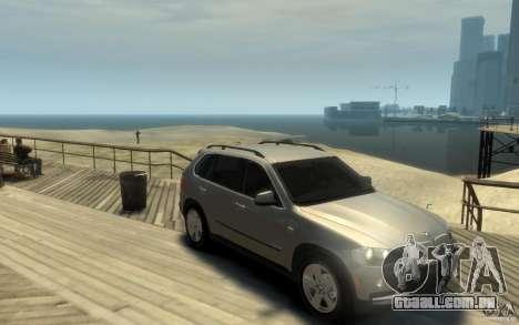 BMW X5 E70 Chrome para GTA 4 vista de volta