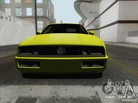 Volkswagen Corrado 1995 para GTA San Andreas vista direita