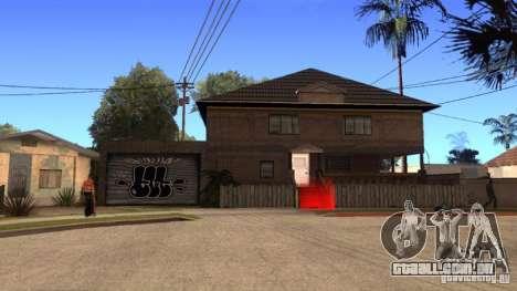 Nova casa CJ (Cj nova casa GLC prod v 1.1) para GTA San Andreas terceira tela