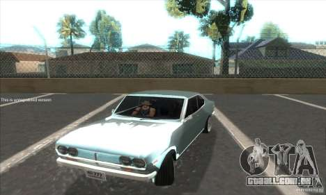 Mazda RX-2 2-door Coupe US para GTA San Andreas