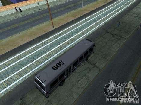 Prison Bus para GTA San Andreas vista direita