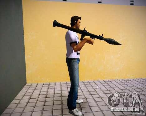 Armas de Pak de GTA4 para GTA Vice City nono tela