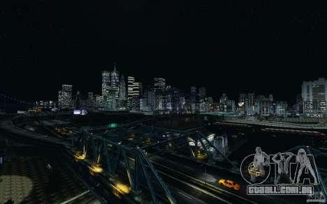 Telas de menu e inicialização de Liberty City em para GTA San Andreas