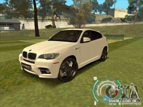 BMW X6 M Hamann Design para GTA San Andreas