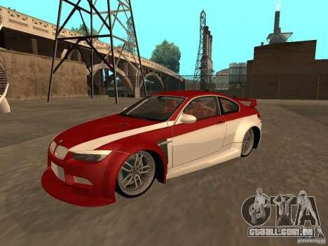 BMW M3 E92 Tunable para o motor de GTA San Andreas