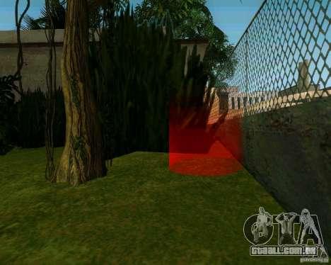 Macieira para GTA San Andreas segunda tela