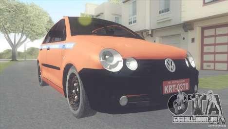 VW Polo Taxi de Porto Alegre para GTA San Andreas