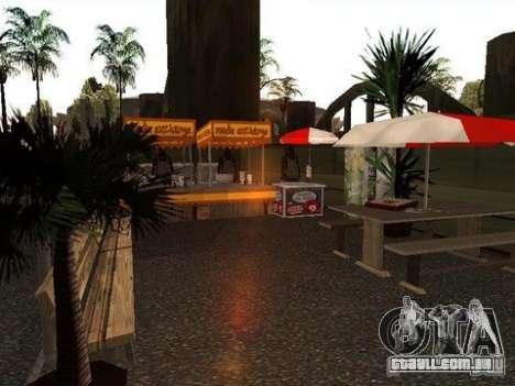 Nev Groove Street 1.0 para GTA San Andreas por diante tela