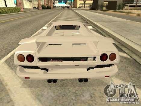 Lamborghini Diablo VT 1995 V2.0 para GTA San Andreas vista direita