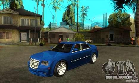 Chrysler 300C SRT 8 2008 para GTA San Andreas