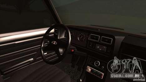 IZH 27175 para GTA San Andreas interior