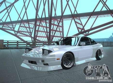 Nissan 240SX Tuned para GTA San Andreas traseira esquerda vista