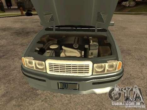 HD Mafia Sentinel para GTA San Andreas vista direita