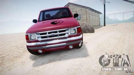 Ford Ranger para GTA 4 vista de volta