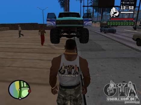 Um monstro no estilo do FC ZENIT para GTA San Andreas vista direita