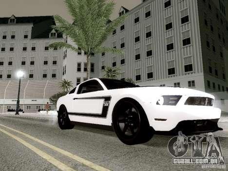 ENBSeries by Shake para GTA San Andreas por diante tela